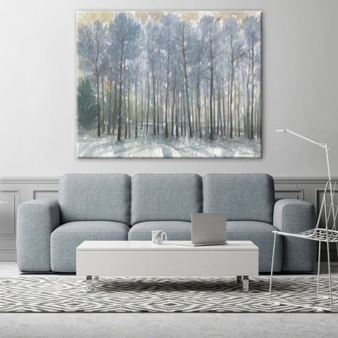 Ethereal Forest Landscapes Rectangle Gallery Wrapped Canvas by Norman Wyatt Home