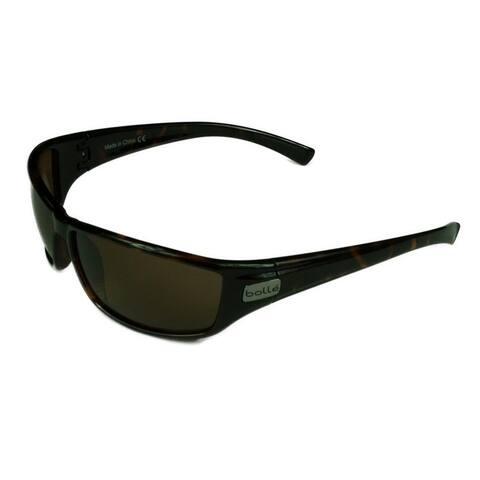 Bolle Python Sunglasses Dark Tortoise Frame w/ Polarized A-14 Lens