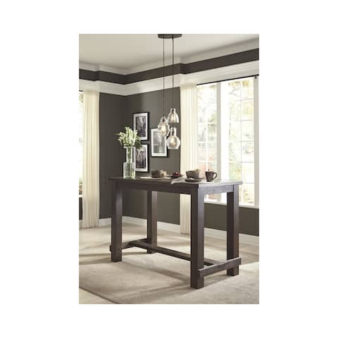 Signature Design by Ashley Drewing Brown Wood Rectangular Bar Table