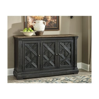 Tyler Creek Dining Room Server - Black/Gray