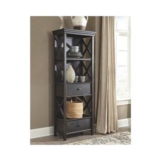 Tyler Creek Display Cabinet - Black/Gray