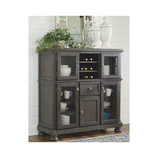 Audberry Dining Room Server - Dark Gray
