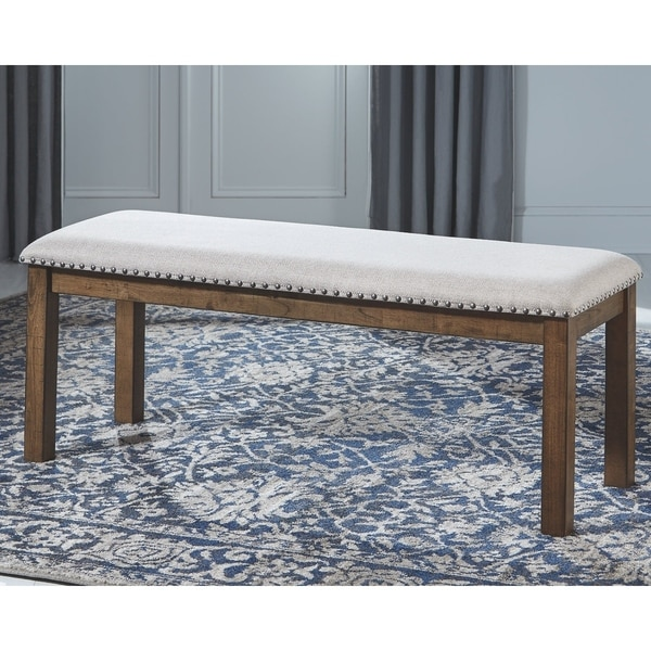 Upholstered Bench Beige: Shop Moriville Upholstered Bench