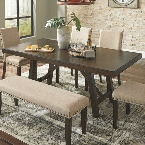 The Gray Barn Yewbank Rectangular Dining Room Extension Table