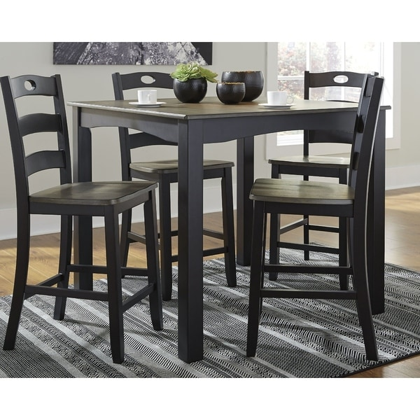 Shop Froshburg Square Counter Height Dining Set - Table ...