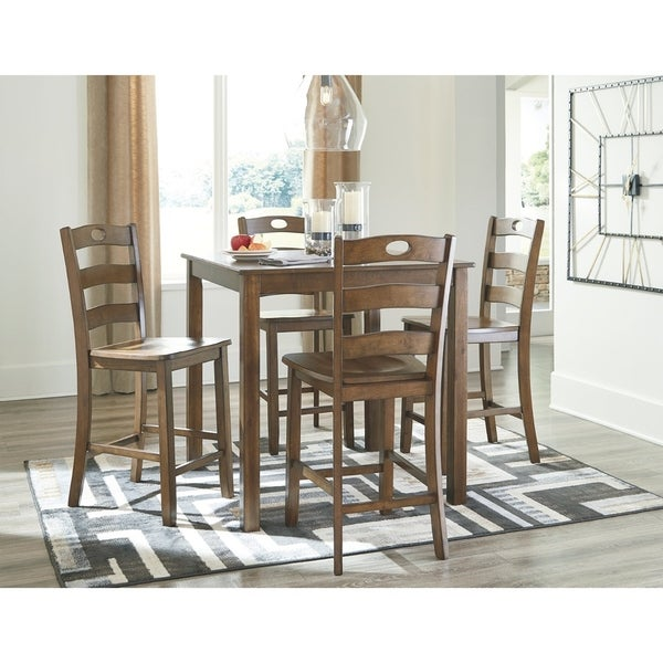 Counter Height Dining Sets On Sale: Shop Hazelteen Square Counter Height Dining Set