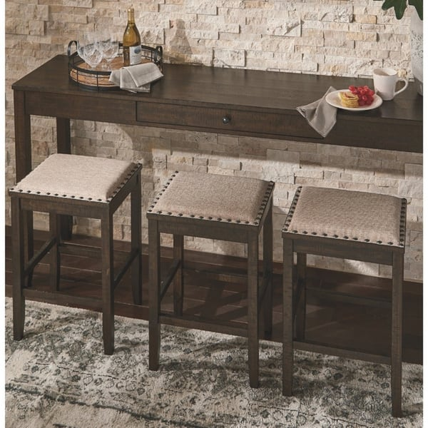 The Gray Barn Yewbank Rectangular 4 Piece Counter Height Dining Set Overstock 28029466