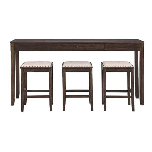 Excellent Shop Rokane Rectangular Counter Height Dining Set Table Ibusinesslaw Wood Chair Design Ideas Ibusinesslaworg