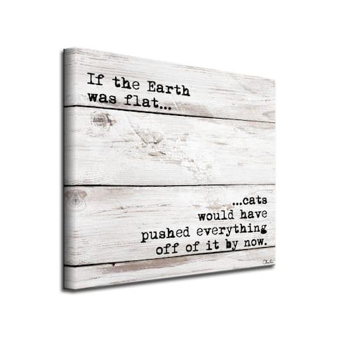 Porch & Den 'Flat Earth