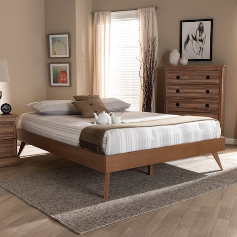 Carson Carrington Ulvsta Contemporary Platform Bed Frame