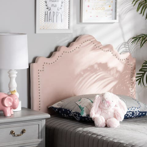 Baxton Studio Fabric Upholstered Contemporary Headboard