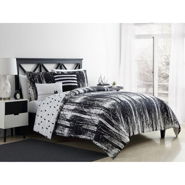 VCNY Home Woodland Reversible Duvet Cover Set