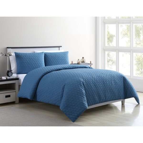 Vcny Home Mykonos Textured Duvet Cover Set by Vcny