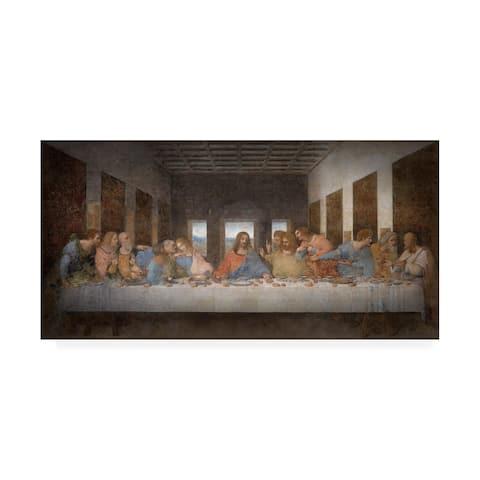 Leonardo Da Vinci 'The Last Supper Da Vinci' Canvas Art
