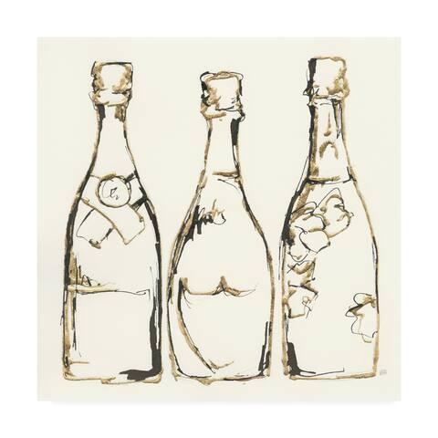 Chris Paschke 'Champagne is Grand III' Canvas Art