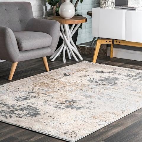 nuLOOM Contemporary Modern Abstract Matilda Area Rug