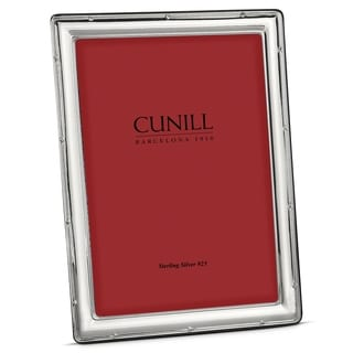 Cunill America - .925 Sterling Silver Narrow Ribbon 4x6 Frame