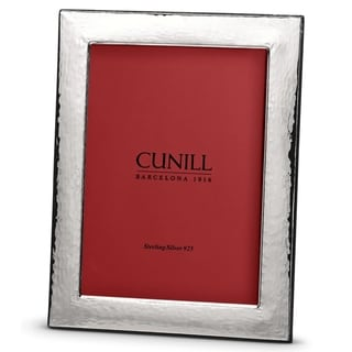 Cunill America - .925 Sterling Silver Hammered 5x7 Frame