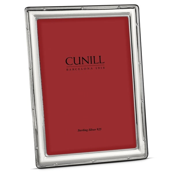 Cunill America - .925 Sterling Silver Narrow Ribbon 5x7 Frame