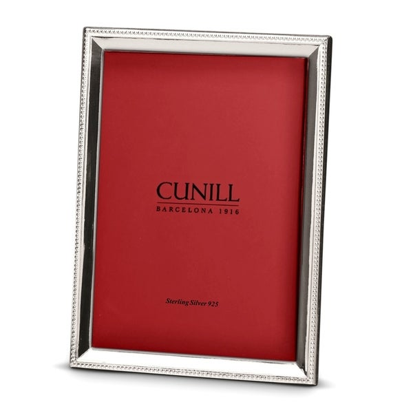 Cunill America - .925 Sterling Silver Bead Bevel 5x7 Frame