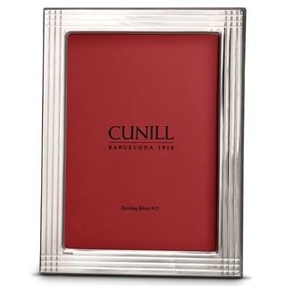 Cunill America - .925 Sterling Silver Pinstripe 4x6 Frame