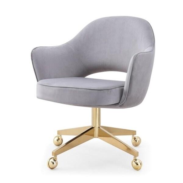 M82 Velvet Office Chair