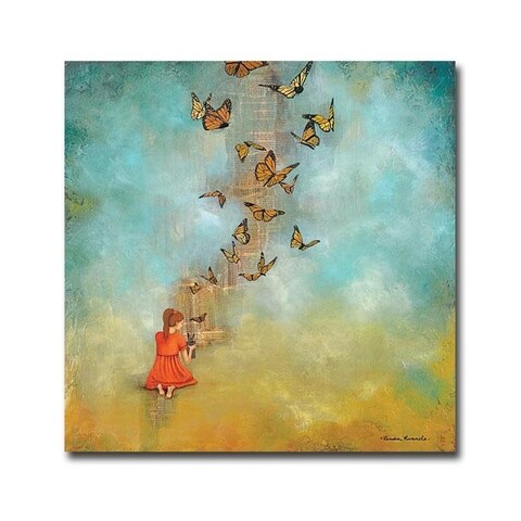 Kendra Runnels 'Made New' Gallery Wrapped Canvas Giclee Art