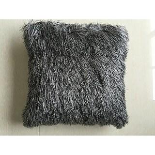 """Polyester Faux Fur Pillow, 14"""" x 14"""""""