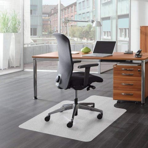 """Home Office PVC Chair Mat Pile Carpets Protect Floor Pad 36"""" x 48"""""""