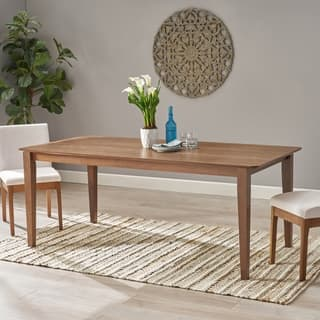 Dickinson Rectangular 8 Seat Farmhouse Dining Table by Christopher Knight Home