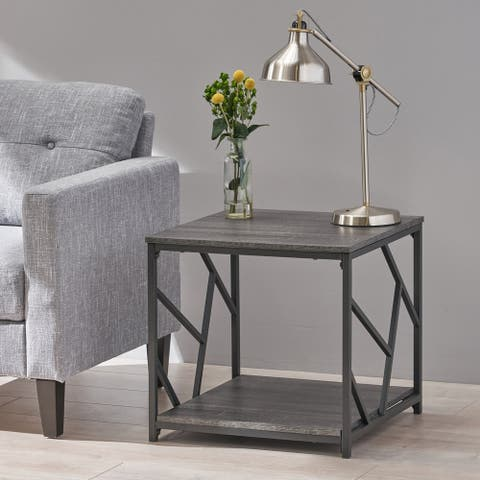 Thicket Industrial Modern Coffee Table by Christopher Knight Home