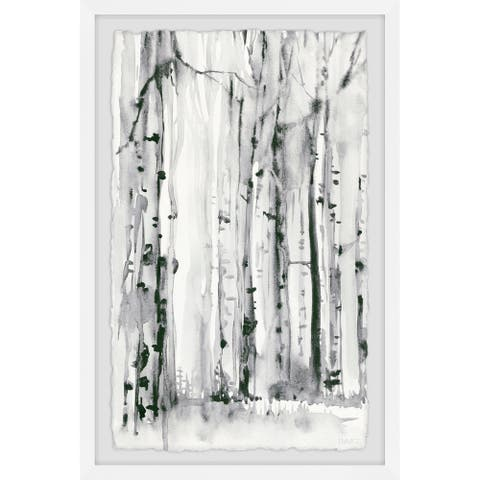 The Gray Barn Handmade Woodland Patches Framed Print