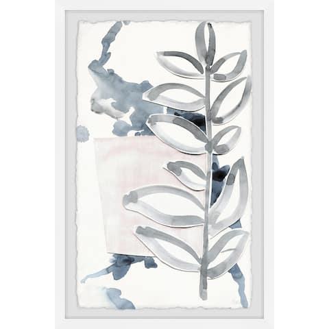 The Gray Barn Handmade Stem Lines Framed Print