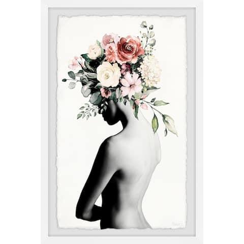 Handmade Crown Beauty Framed Print
