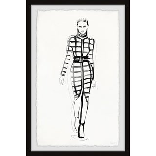 Handmade Sleek Pattern Framed Print