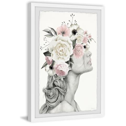 Handmade FlowerBraid Framed Print