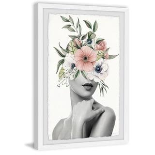Handmade Passionate Bloom Framed Print