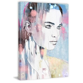 Handmade Feel the Power Print on Wrapped Canvas