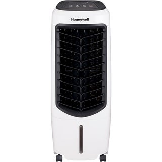 Honeywell 194 CFM Indoor Evaporative Air Cooler (Swamp Cooler) with Remote Control in White