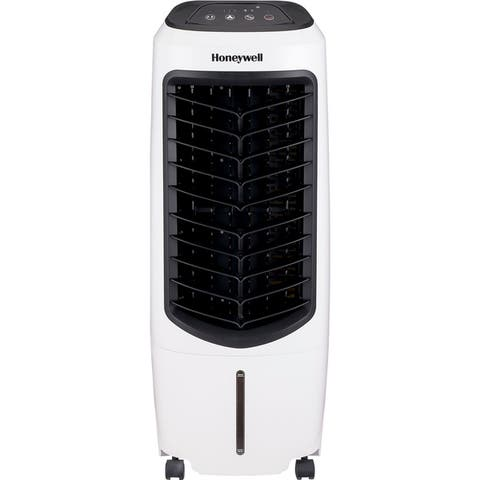 Honeywell 194 CFM White Indoor Evaporative Air Cooler w/ remote