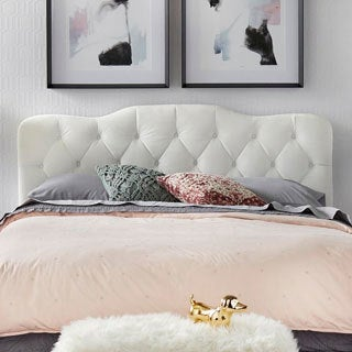 Simple Living Tessa Upholstered Queen Headboard