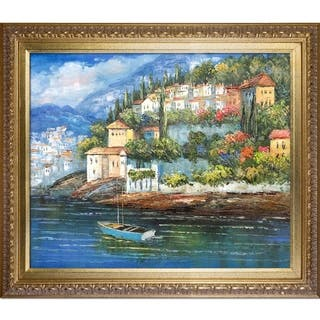 Italy at Dusk' Hand Painted Oil Reproduction