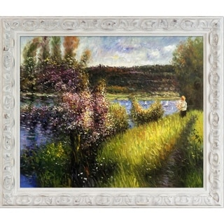 Pierre-Auguste Renoir 'The Seine at Chatou' Hand Painted Oil Reproduction