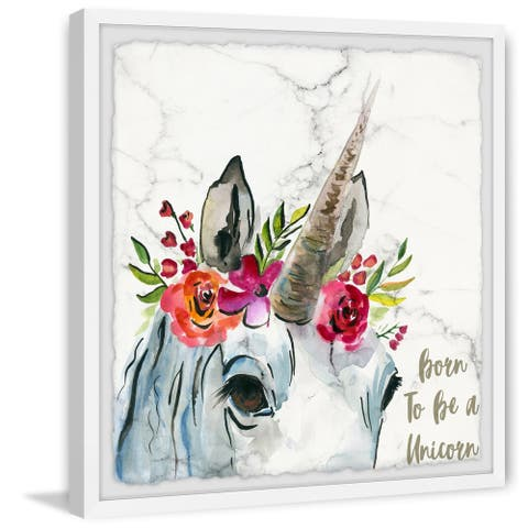 Taylor & Olive Handmade Lady Unicorn Framed Print