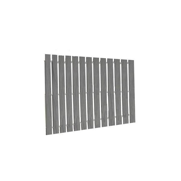 Walkway Boardwalk in PVC Deck Board - 2 Feet Wide - Dusk Gray