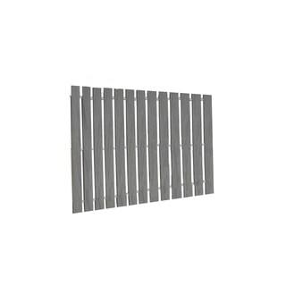 Walkway Boardwalk in PVC Deck Board - 5 Feet Wide - Dusk Gray