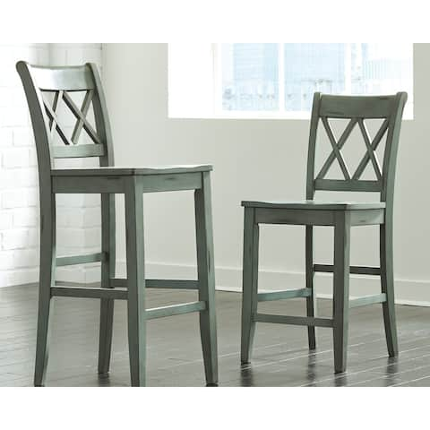 Mestler Bar Height Bar Stool (Set of 2)