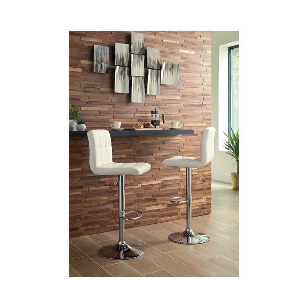 Strange Bellatier Adjustable Height Bar Stool Set Of 2 Unemploymentrelief Wooden Chair Designs For Living Room Unemploymentrelieforg