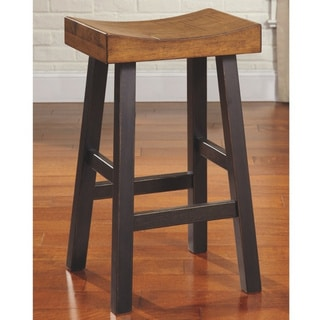 Link to Copper Grove Voznesensk Brown and Black Bar Stools (Set of 2) Similar Items in Dining Room & Bar Furniture