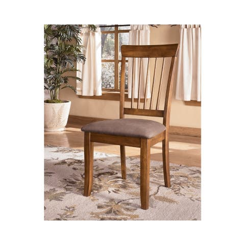 Berringer Dining Room Chair - Set of 2 - Rustic Brown